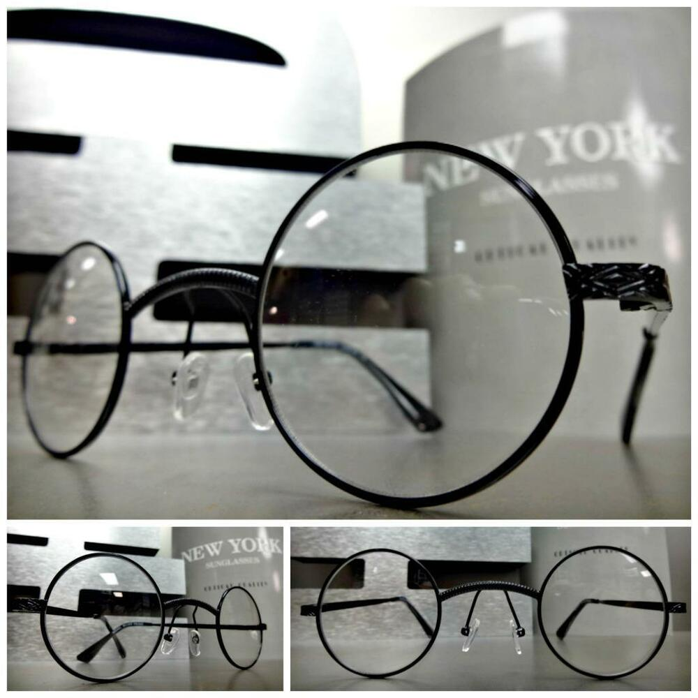 Glasses New Frames Old Lenses : New CLASSIC VINTAGE Style Clear Lens EYE GLASSES Small ...