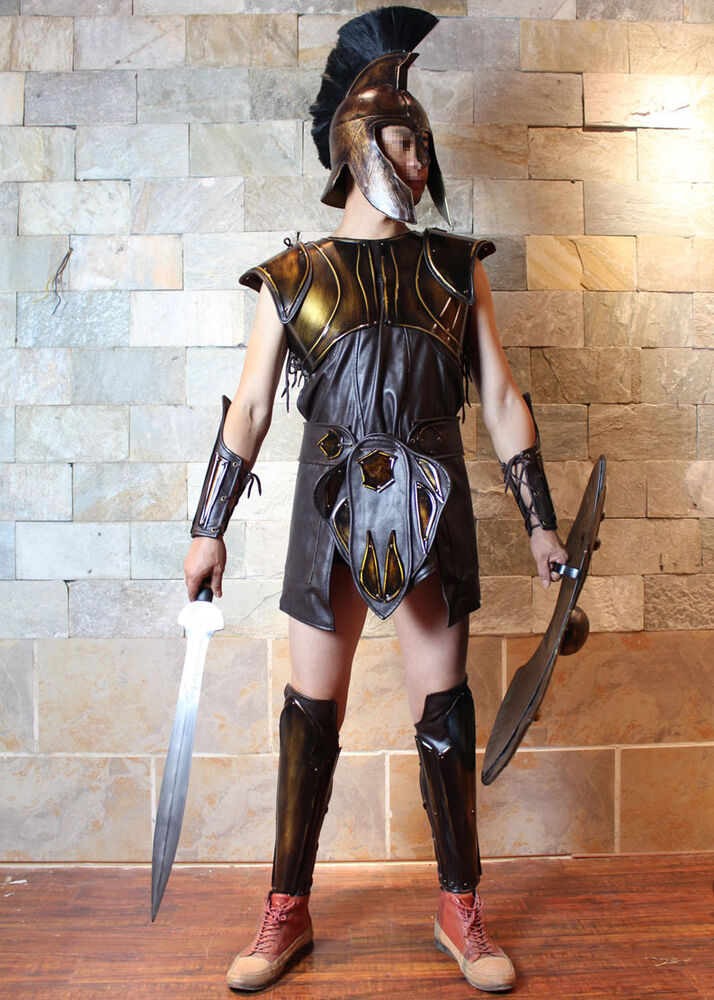 Wearable Medieval Crusader Troy Achilles Knight Armor ...