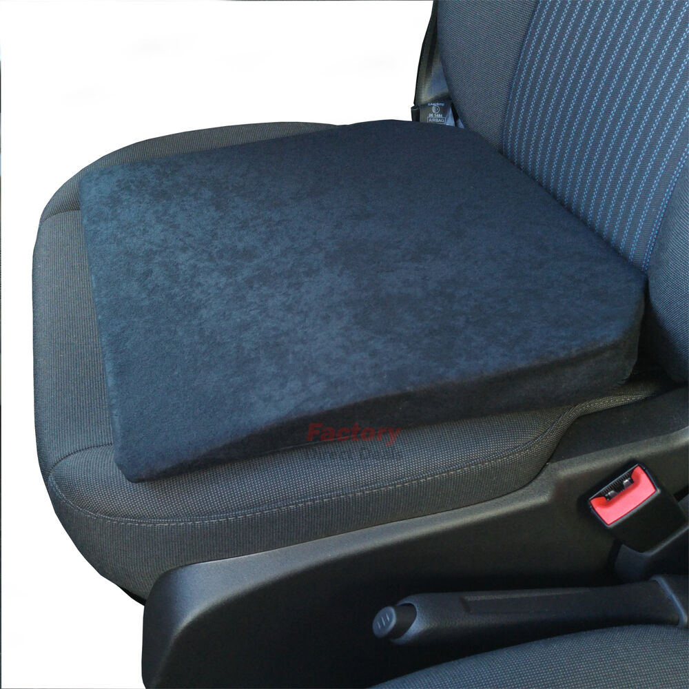 premium support cushion seat wedge height booster foam for van car ebay. Black Bedroom Furniture Sets. Home Design Ideas