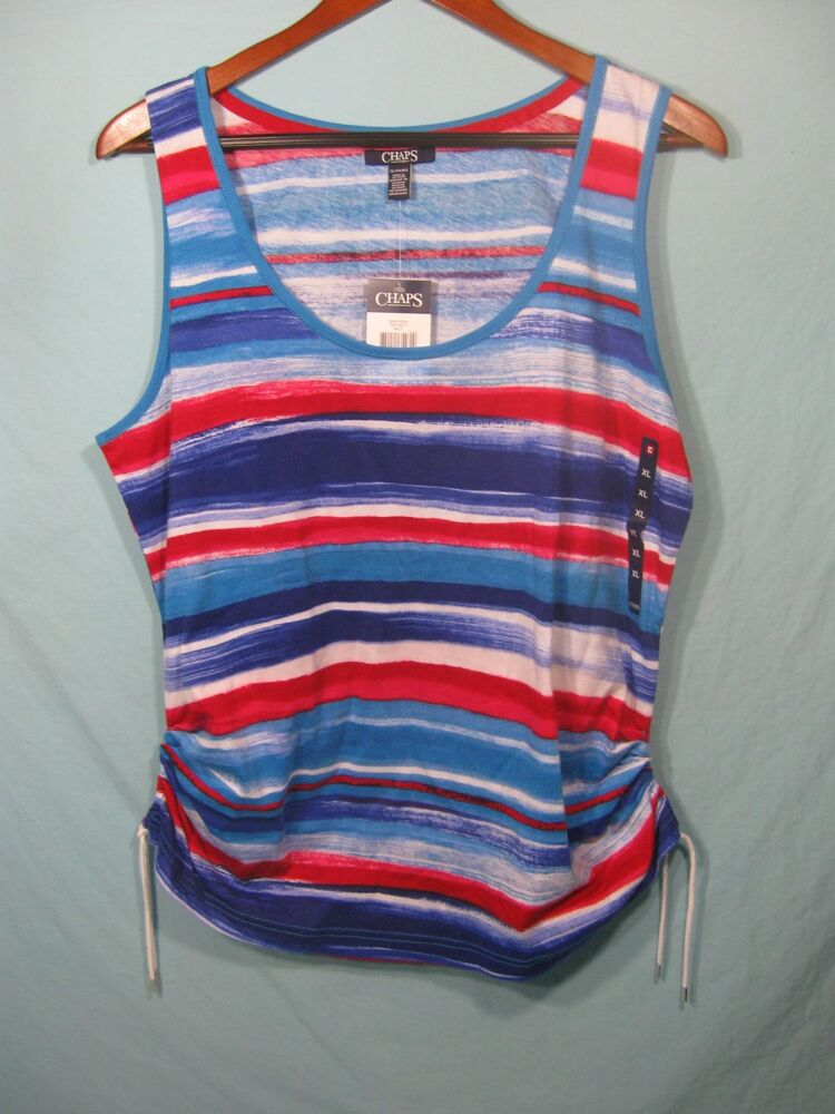 Blue Striped Shirt Womens