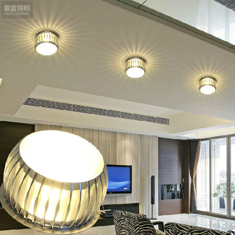 Modern crystal chandelier pendant lamp led lighting small for Small hanging light fixtures