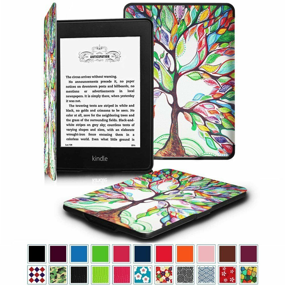 "Amazon Kindle Paperwhite 6"" Leather Case Cover SmartShell"