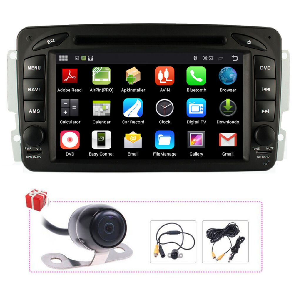 For mercedes benz w203 c200 c230 g w463 clkandroid 4 4 for Mercedes benz stereo
