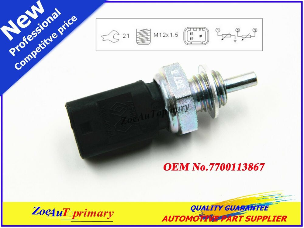 Renault Engine Coolant : New engine coolant temperature sensor for