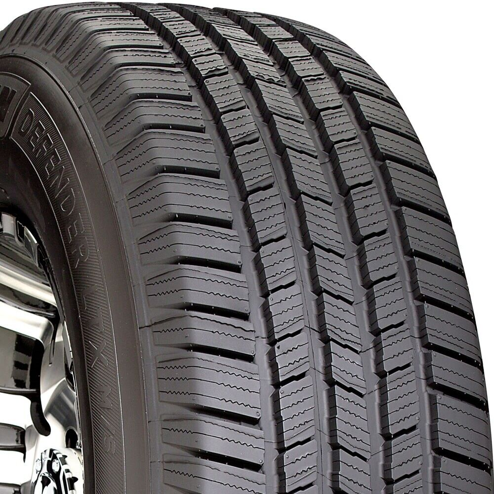 2 new 245 65 17 michelin defender ltx m s 65r r17 tires. Black Bedroom Furniture Sets. Home Design Ideas