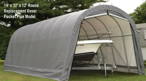 Portable Garages At Menards : Shelterlogic replacement cover for