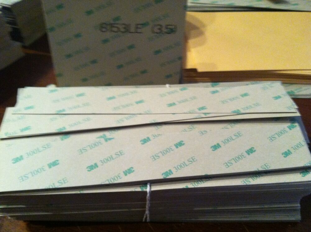 200 Strips 3m 300lse Two Sided Double Sided Adhesive Heavy