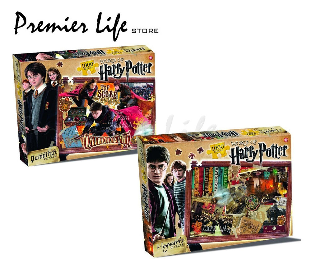 harry potter jigsaw puzzle 1000 pieces ebay. Black Bedroom Furniture Sets. Home Design Ideas