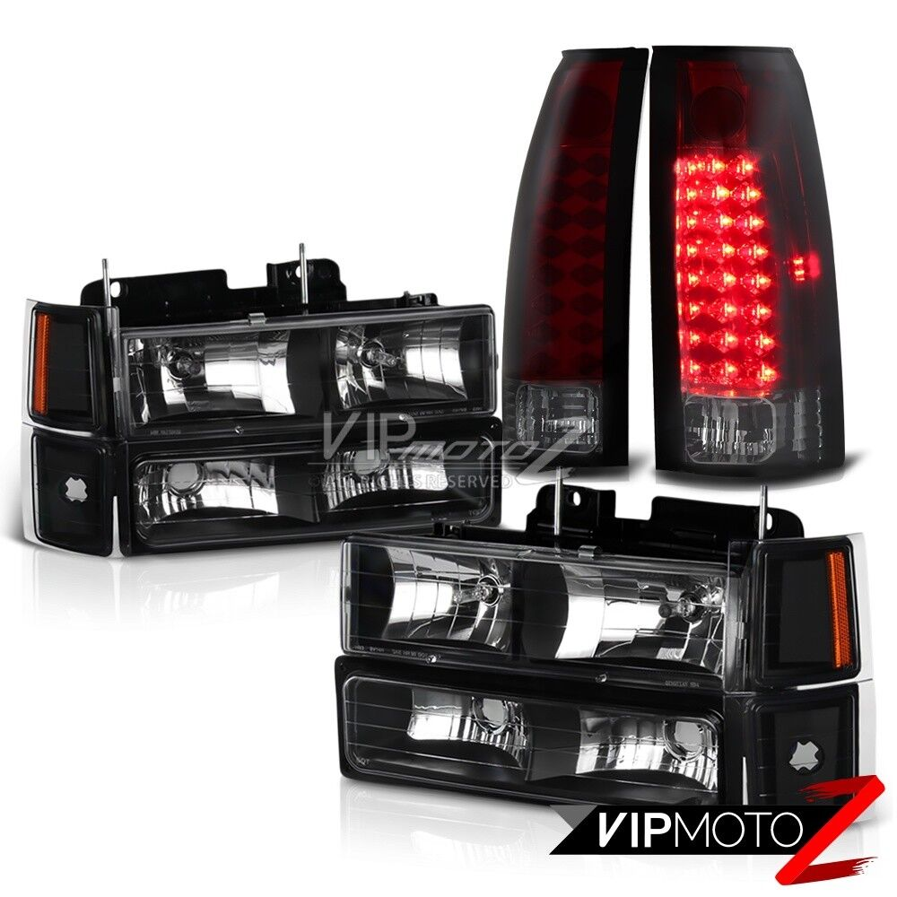 1995 1999 Chevy Tahoe Cherry Red Led Tail Light