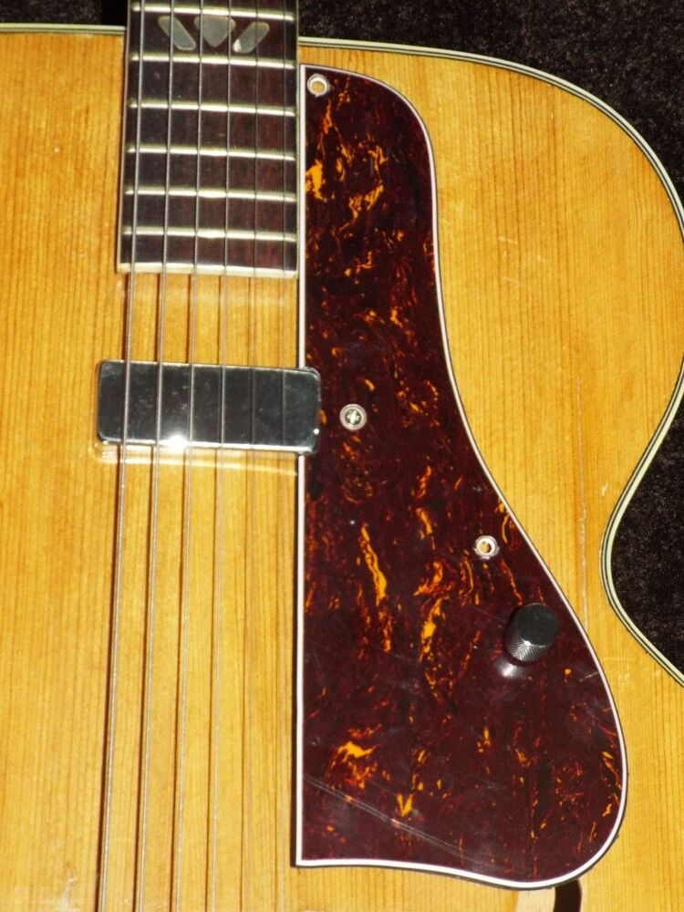 Vintage Repro L4C Pickguard For Archtop With Pickup ...