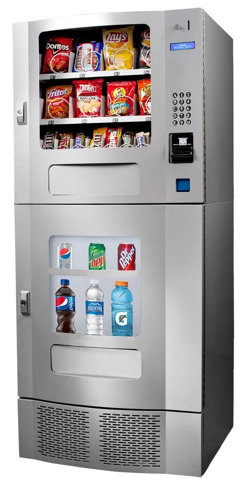 NEW Seaga SM22 Combo Vending Machine | eBay