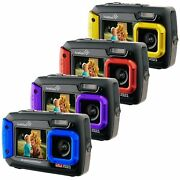 Ivation 20MP Underwater Shockproof Digital Camera w/ Full-Color Selfie Display $50 + Free Shipping (eBay Daily Deal)