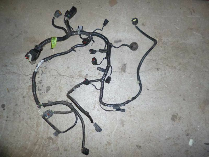 2007 Ford Focus Engine Wire Harness 07
