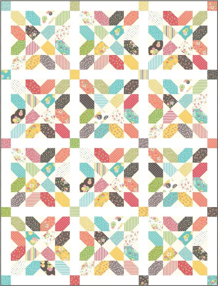 Prairie Floret Quilt Kit By Cory Yoder Little Miss Shabby