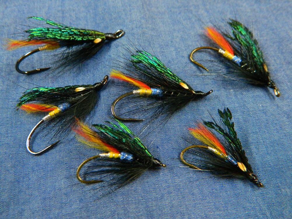 Black Dose - Hairwing pattern - Classic flies for Atlantic ...