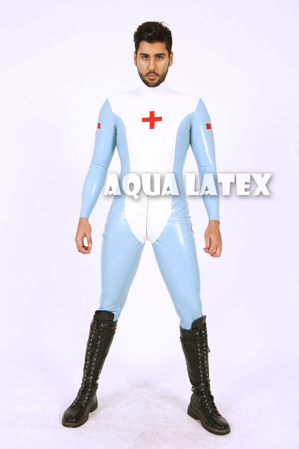 Latex Nurse Uniform 78