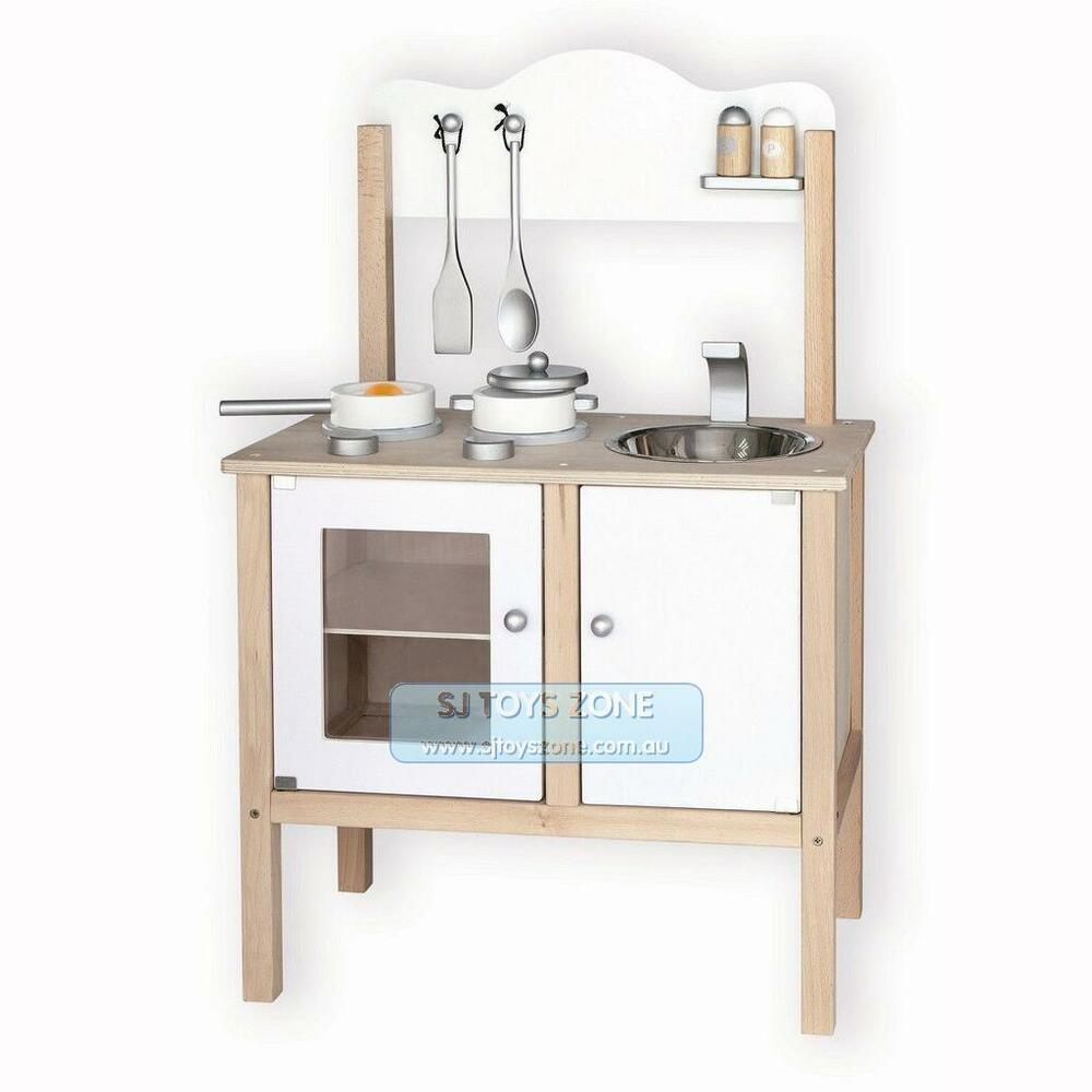 kitchen accessories australia viga wooden noble kitchen white w accessories 2113