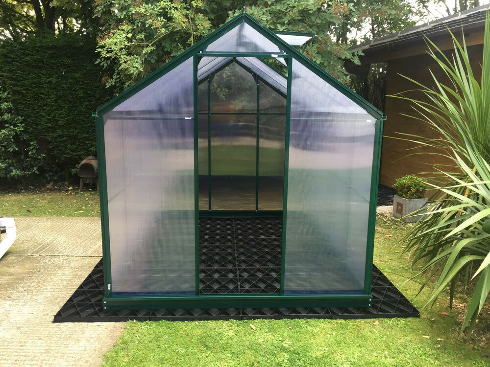 GREENHOUSE BASE FLOOR + MEMBRANE GROUND STABLE GREEN HOUSE ...