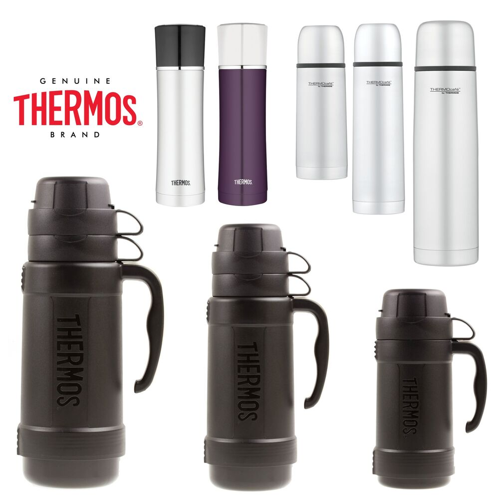 thermos food flask drink flasks vacuum insulated for soup lunch travel camping ebay. Black Bedroom Furniture Sets. Home Design Ideas