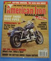 AMERICAN IRON MAGAZINE JUNE/1999 TOP FUEL HARLEY RACERS-WHAT'S HOT, WHO'S SHOT