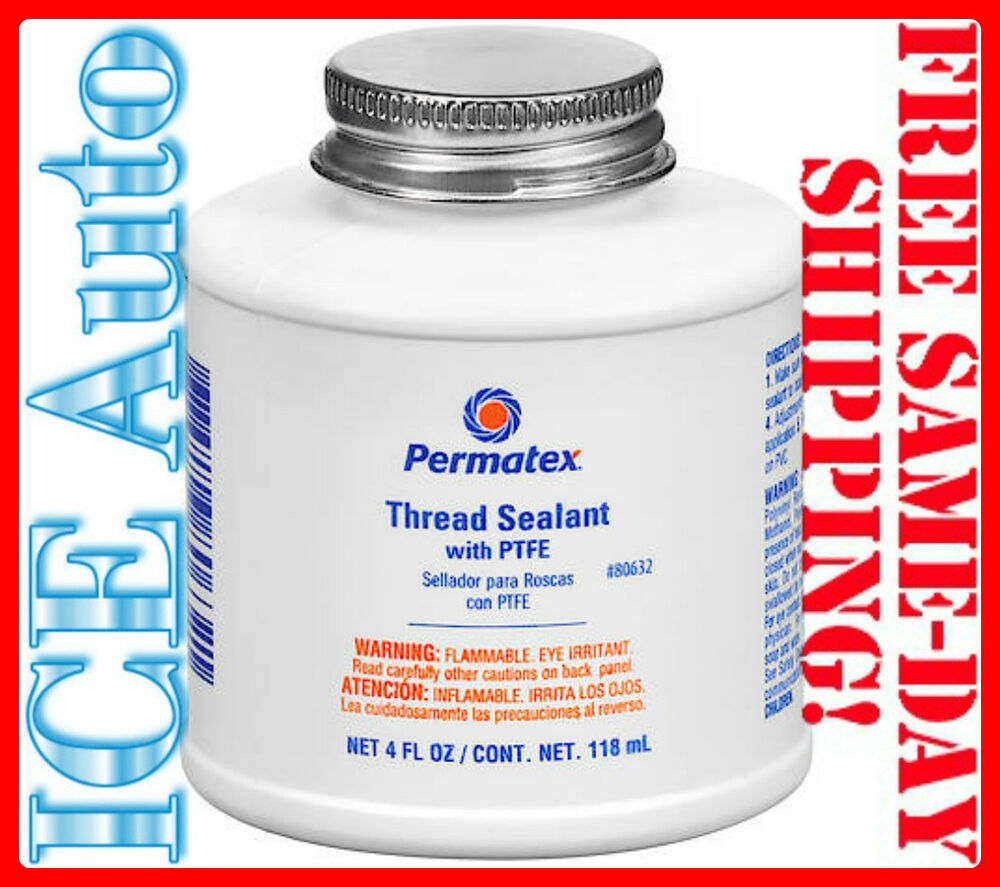 Day sale permatex thread sealant with ptfe oz