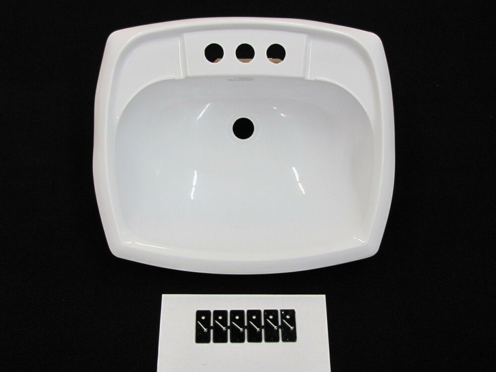 motorhome bathroom sink mobile home rv marine parts bathroom lav sink white 13777