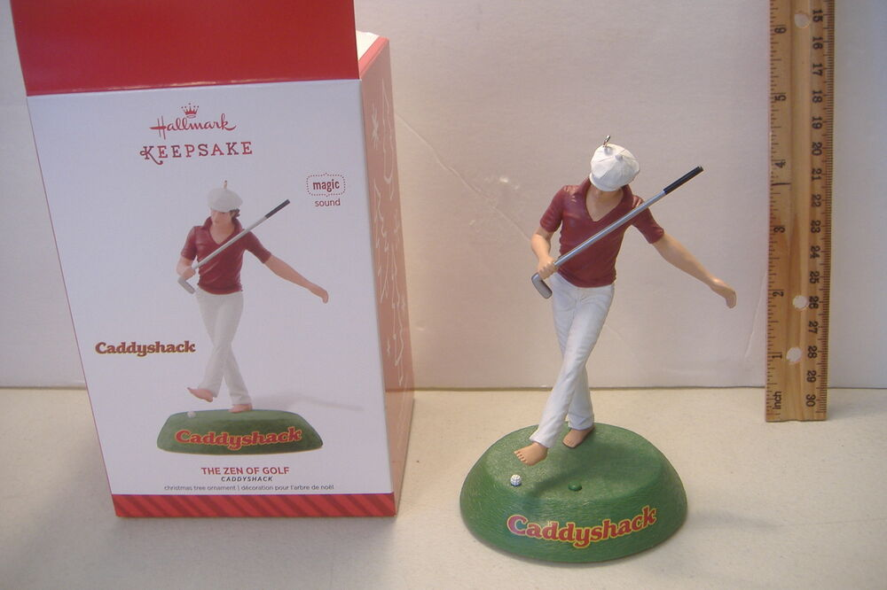 The Zen Of Golfcaddyshackmagicsound2014 Hallmark Ornament Ebay