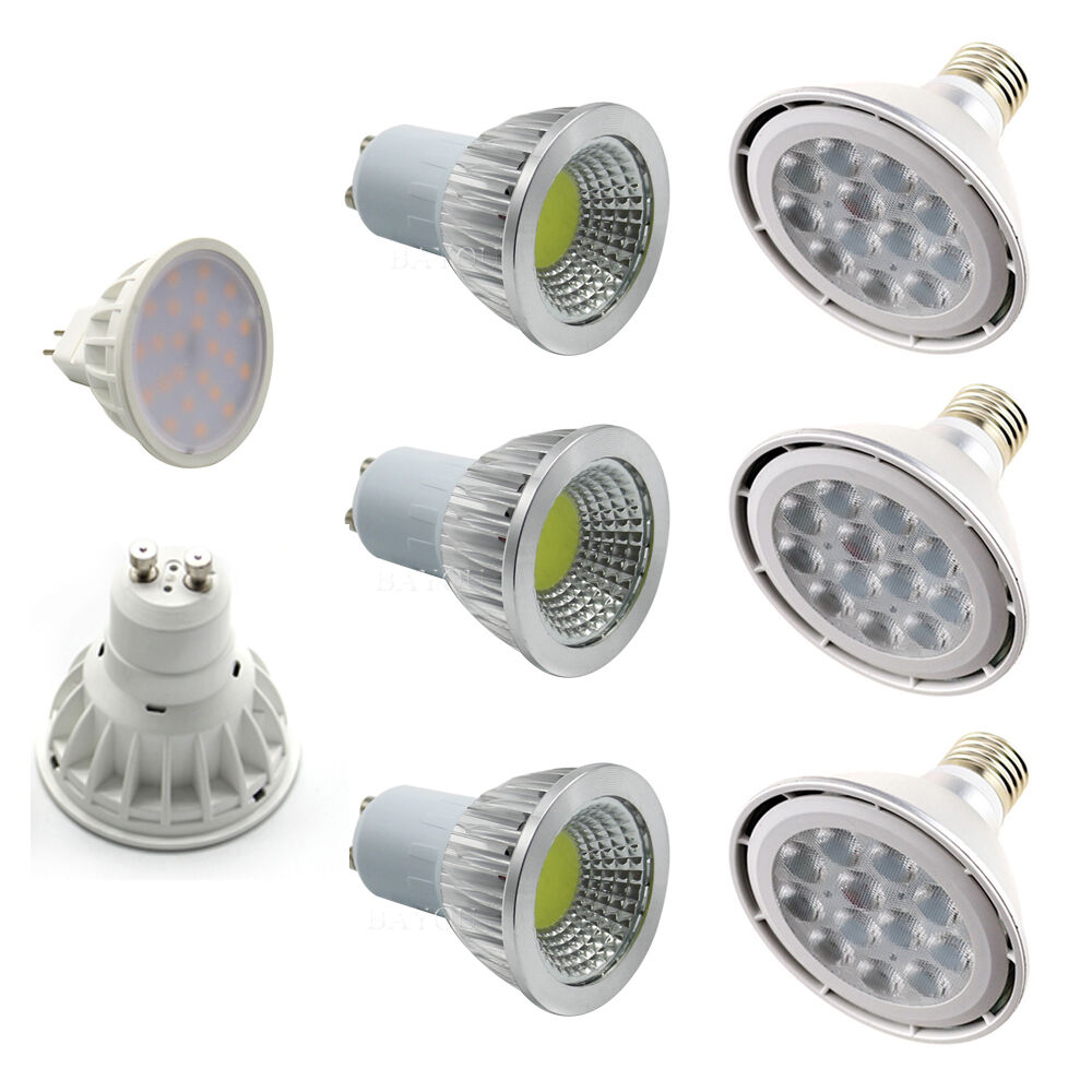 e27 e14 gu10 mr16 led spot light bulb cree smd cob lamp 6 7 9 12 15 18. Black Bedroom Furniture Sets. Home Design Ideas