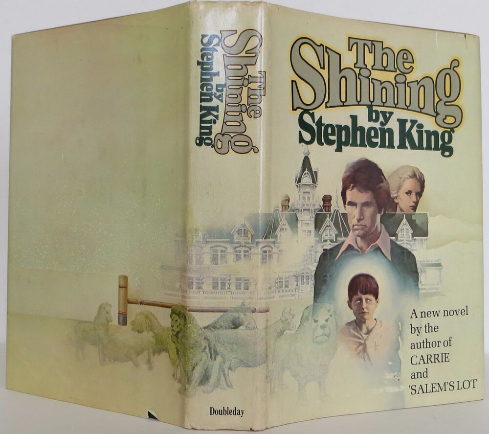 The Shining by Stephen King (1977, Hardcover) LIKE NEW MP2FF