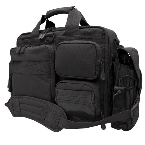 condor 153 black briefcase concealed carry tech bail out