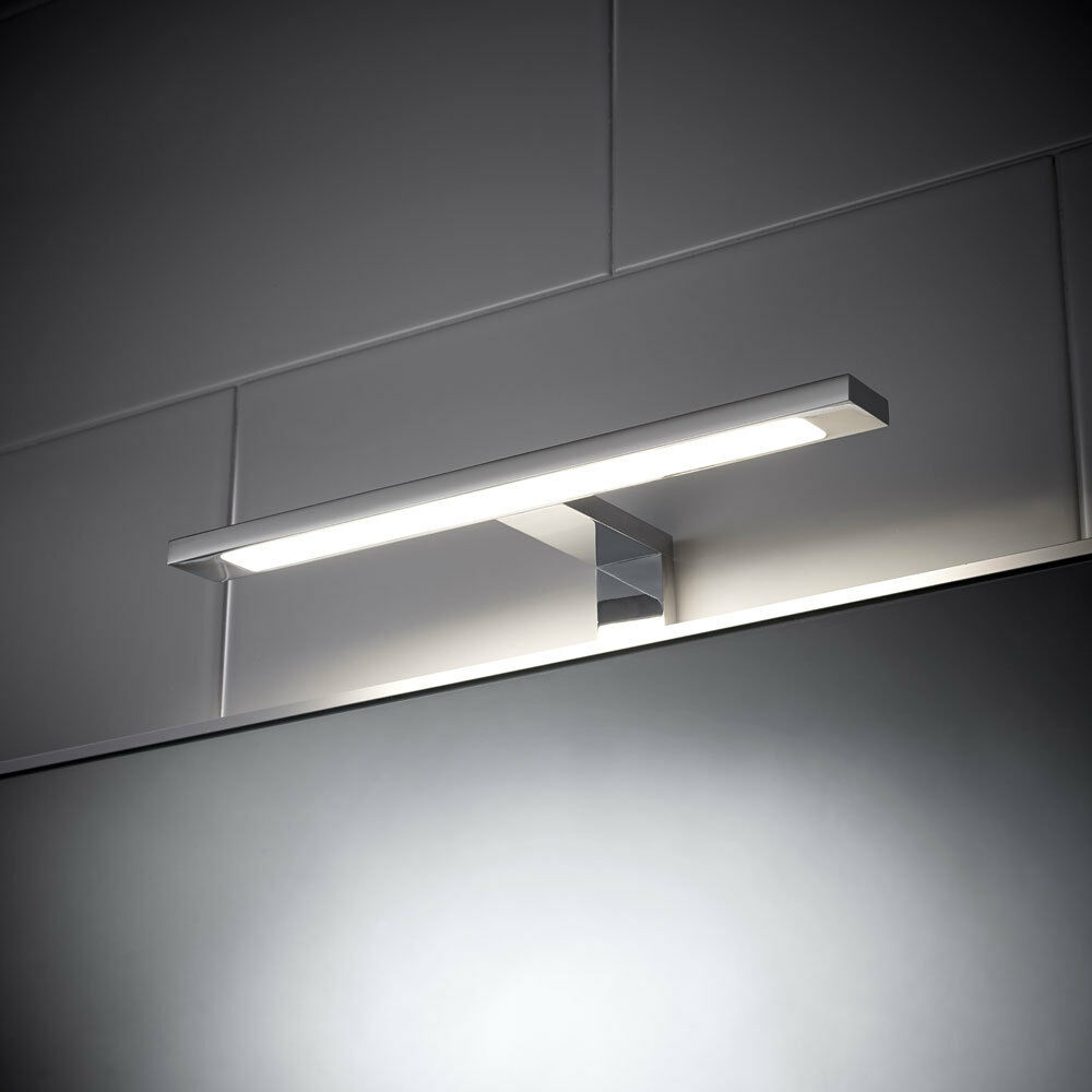 Led light bathroom over mirror t bar sensio neptune for Over mirror bathroom lights