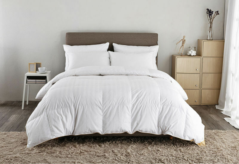 luxury white goose 100 pure hungarian goose down duvet quilt early 39 s of witney ebay. Black Bedroom Furniture Sets. Home Design Ideas