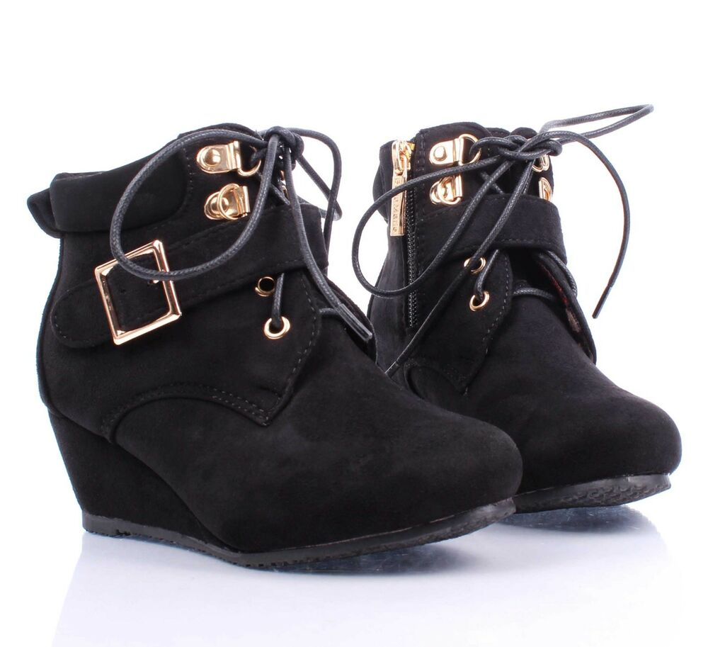 Youth Girl Wedge Shoes