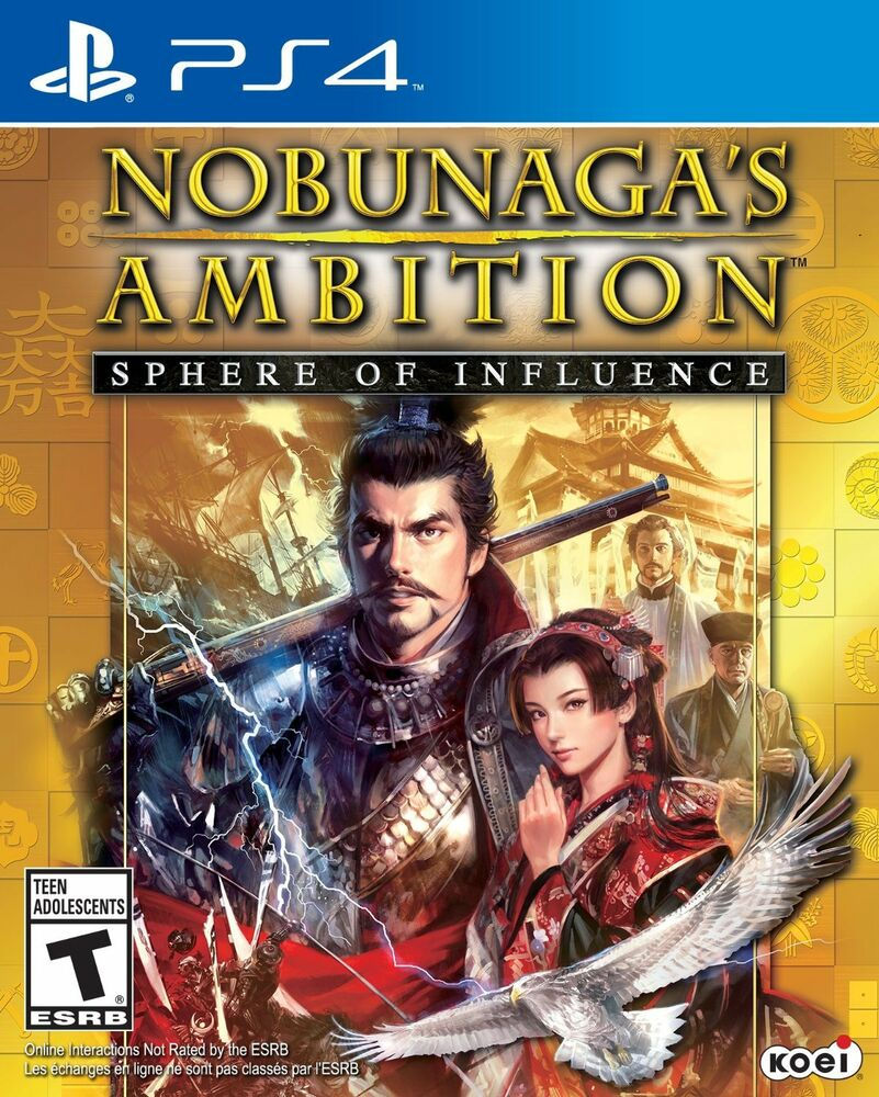 New Nobunagas Ambition Sphere Of Influence Sony Playstation 4 Game Ps4 Romance The Three Kingdoms Xiii Reg 3 2015 40198002691 Ebay