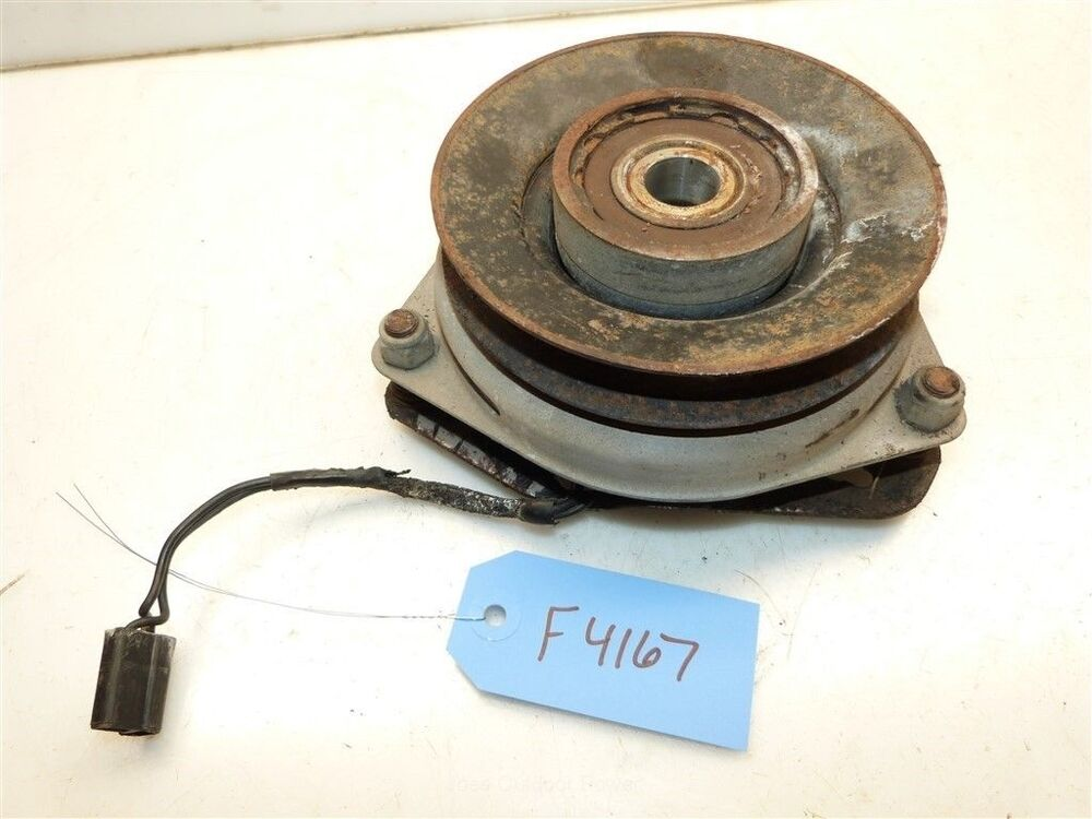 Tractor Clutch Cable : Jacobsen homelite yt tractor electric pto clutch ebay
