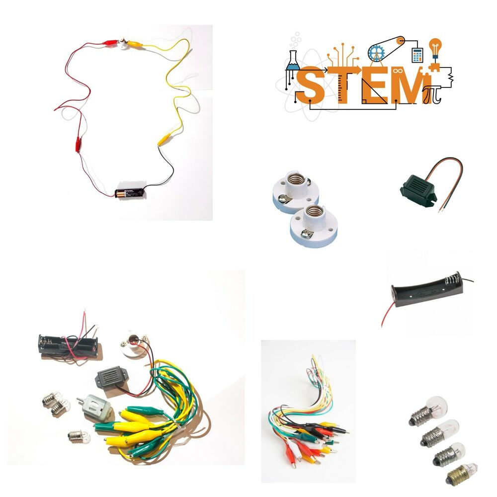 Electric Circuit Kids Children Learning Resources Montessori Ks1 Ks2 Electricity And Circuits Bulb More Ebay