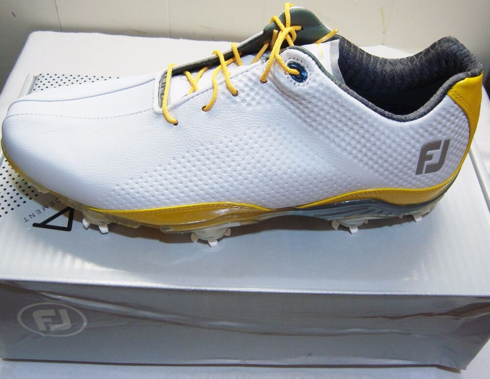 New in Box FootJoy DNA Mens Golf Shoes, 53474, White ...