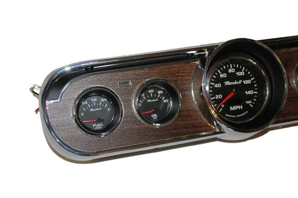 Electronic Gauge Cluster : Classic mustang instruments electronic gauge cluster