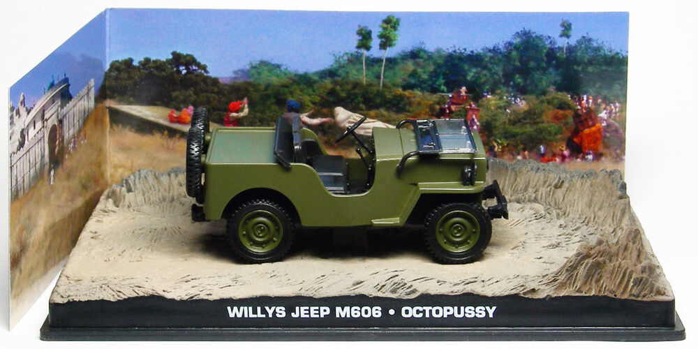 Willys Jeep M606 Octopussy 1 43 James Bond