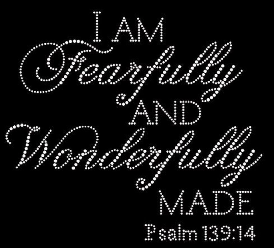 Crafts For I Am Fearfully And Wonderfully Made