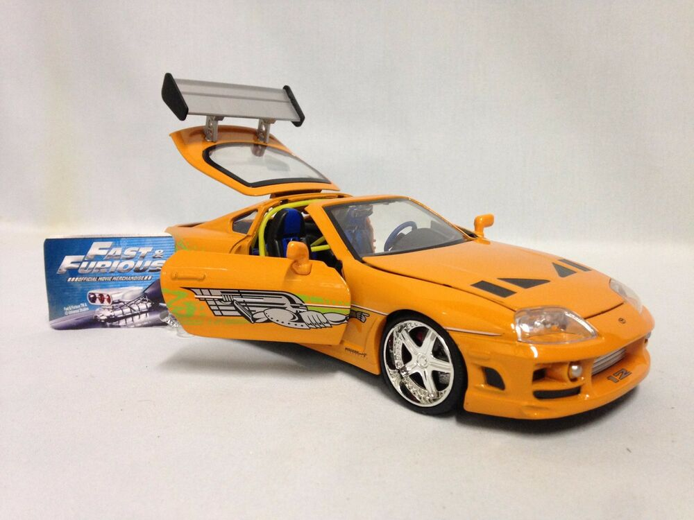 fast and furious toyota supra diecast for sale chicago criminal and civil defense. Black Bedroom Furniture Sets. Home Design Ideas