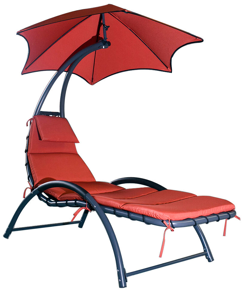 Merax Four Curved Legs Hammock Dream Chair Chaise Lounge ... on Hanging Helicopter Dream Lounger Chair id=63838