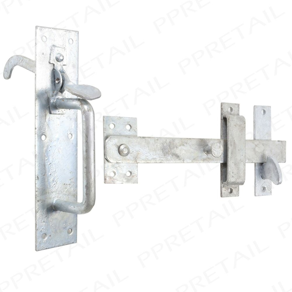 Garden Suffolk Thumb Latch Catch Heavy Duty Galv Gate Shed