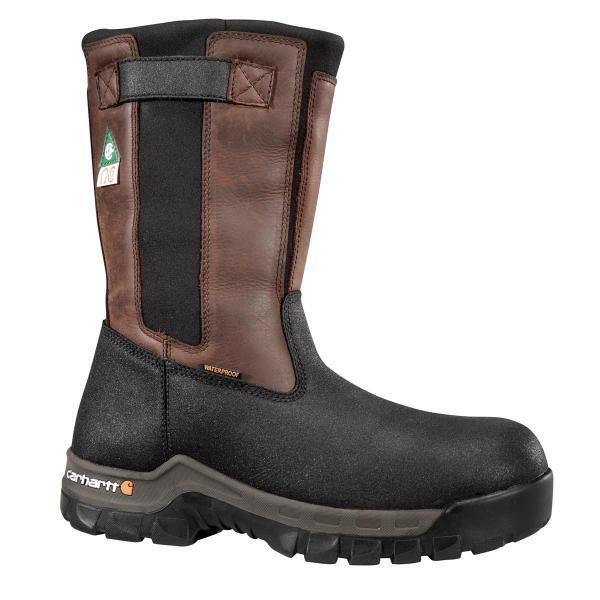 Men S Carhartt Rugged Flex Waterproof Composite Toe Pull