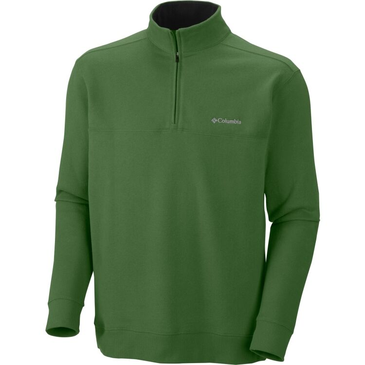 Men 39 s columbia hart mountain fleece 1 2 zip softshell for Pull over shirts for mens