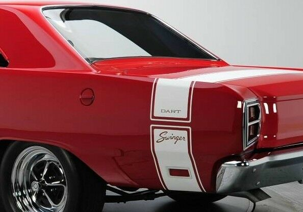 Dodge dart swinger tail stripes DODGE DART STRIPE KITS