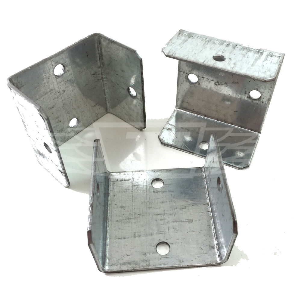 Pack of mm quot fence trellis clips bracket
