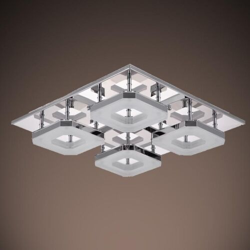Ceiling Lamp The Sims 4: 2016 Modern Acrylic 32W Led 4-Light Ceiling Fixture