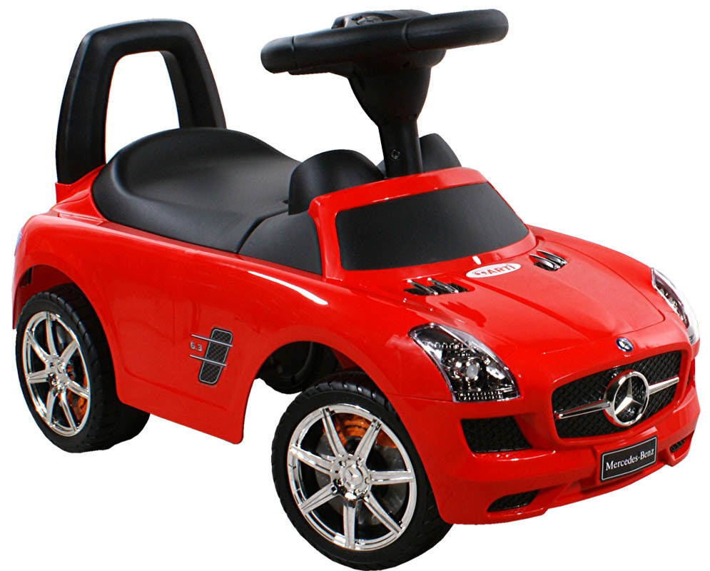 kids ride on mercedes sls baby car walker red bobby car new orginal license ebay. Black Bedroom Furniture Sets. Home Design Ideas