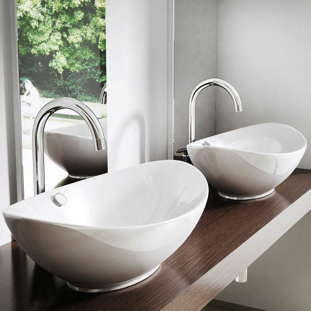 bowl sink for bathroom durovin bathroom wash basin counter top white 17493